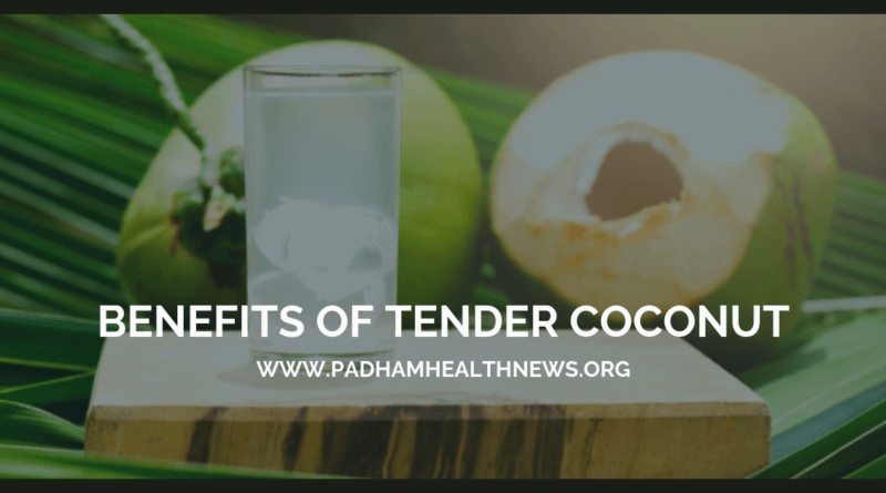 benefits of tender coconut